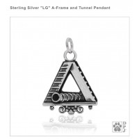 Dazzling Paws A-Frame/ Tunnel Agility Charm