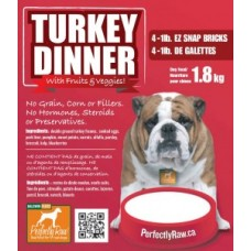 Perfectly Raw - Turkey Dinner - 1lb Block